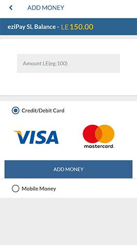 Add Money