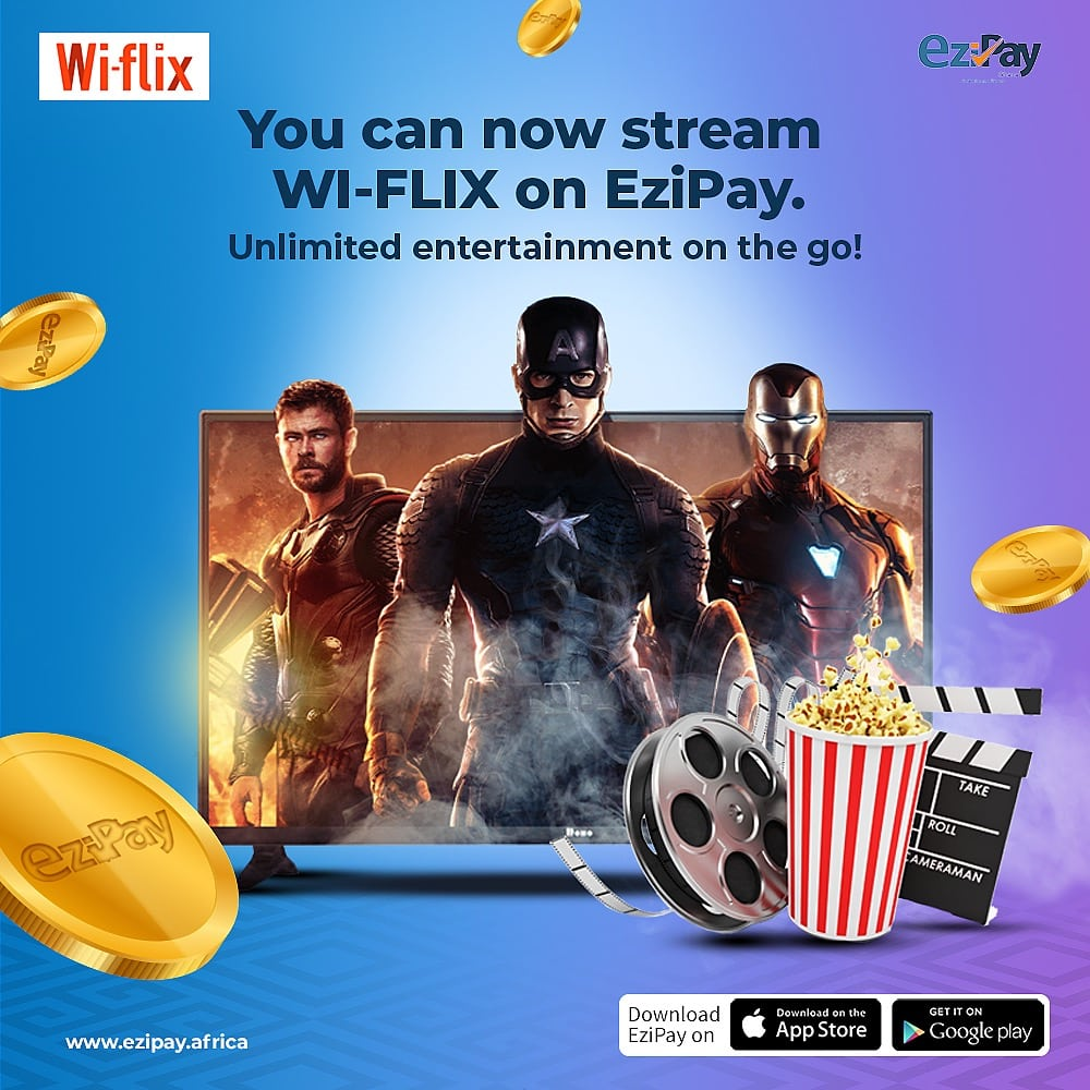 you can now stream wi-flix on ezipay
