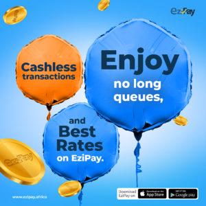 send online money through ezipay