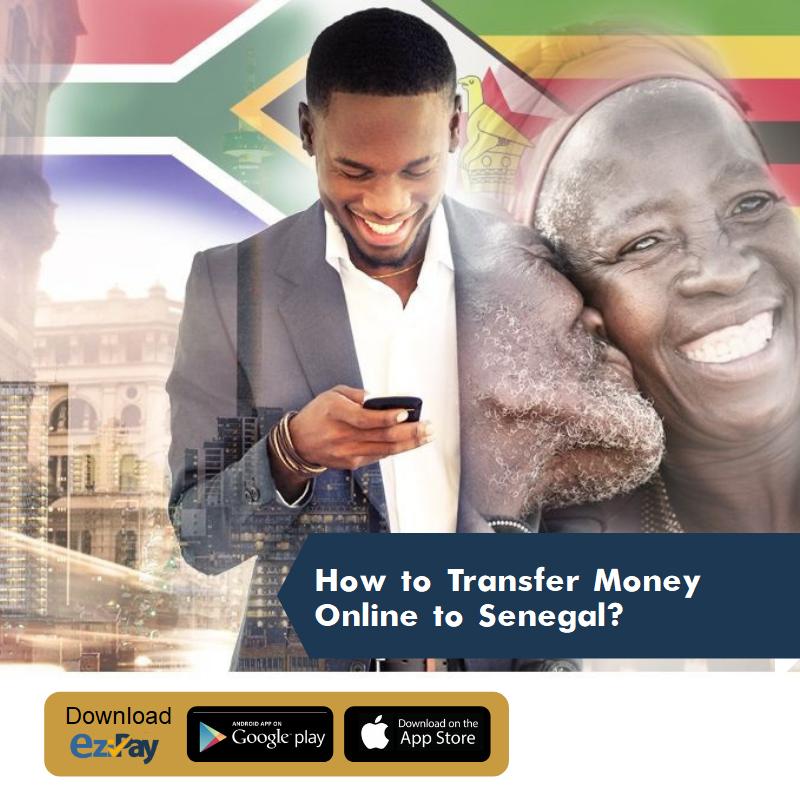 How to transfer money online to sene
