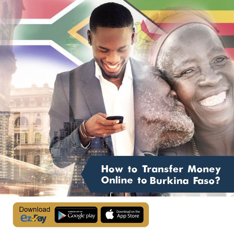 how to transfer money online to Burkina Faso?