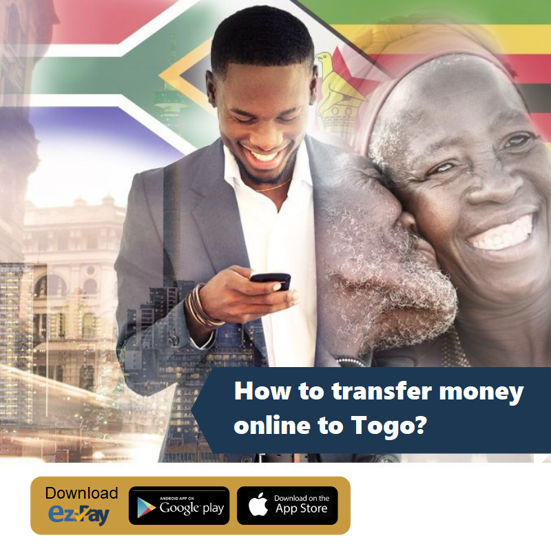money transfer online to africa(togo)